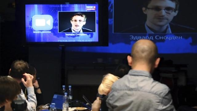 "Putin to Snowden: ""We do not allow"" mass surveillance"