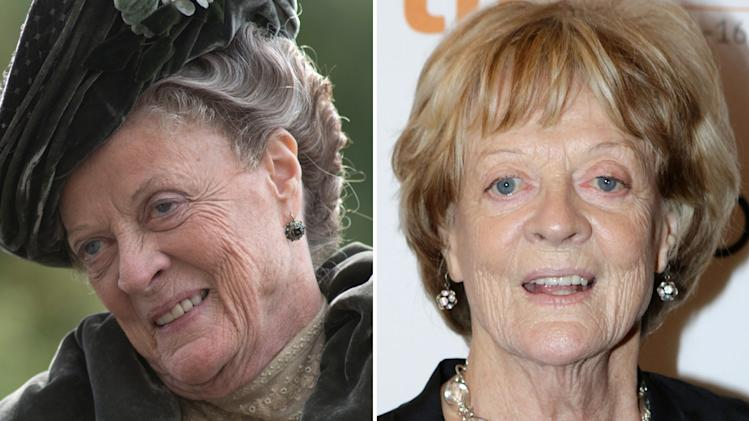 Maggie Smith (Violet, the Dowager Countess)