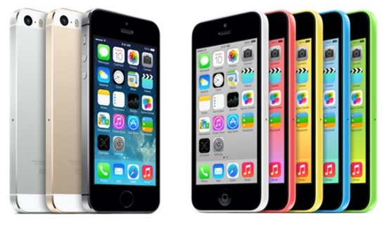 Apple iPhone 5S 以及 iPhone 5C