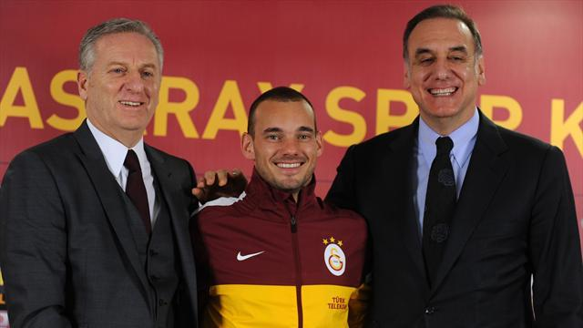 Champions League - Galatasaray boss lets rip at Drogba and Sneijder
