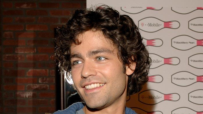 Adrian Grenier at the T-Mobile Launch of The New BlackBerry Pearl with a Night of Bowling for Charity.