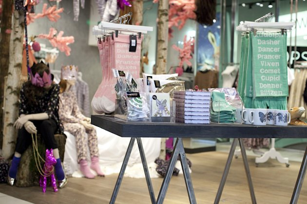 Emma Cook Winter Wonderland Launches in Topshop