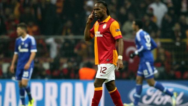 Champions League - Drogba draws blank as Galatasaray held by Schalke
