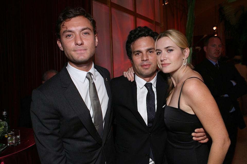 Kate Winslet 2006 Jude Law Mark Ruffalo