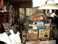 What the home of an adult hoarder looks like.