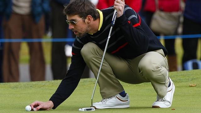 Golf - Phelps a fish out of water at TPC Scottsdale