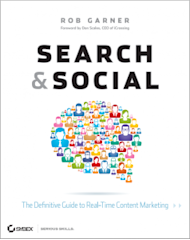 Search & Social Must Reads For The Internet Marketer image search and social cover rob garner 238x300