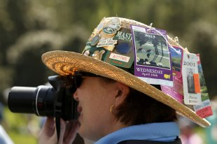 The Masters closed its wait list for tickets in 2000 because demand was so high. (REUTERS)