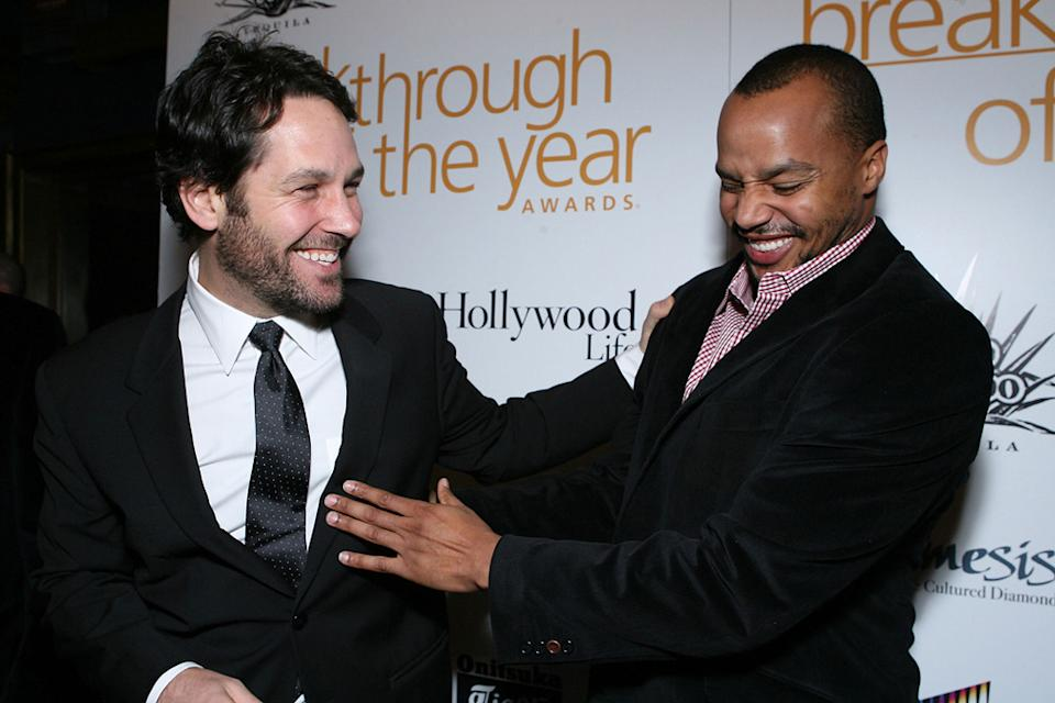 Paul Rudd Donald Faison 2007