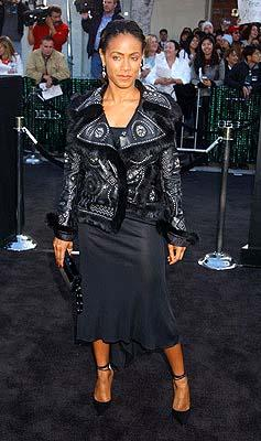 Jada Pinkett Smith of Woo at the Hollywood premiere of Warner Brothers' The Matrix: Reloaded
