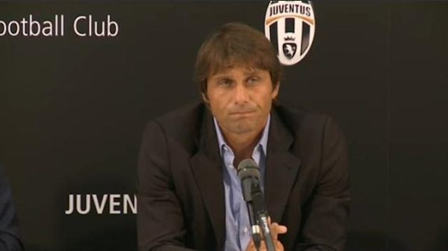 Antonio Conte Juventus press conference 2012