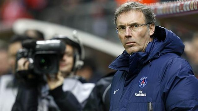 Paris Saint Germain's coach Laurent Blanc (Reuters)