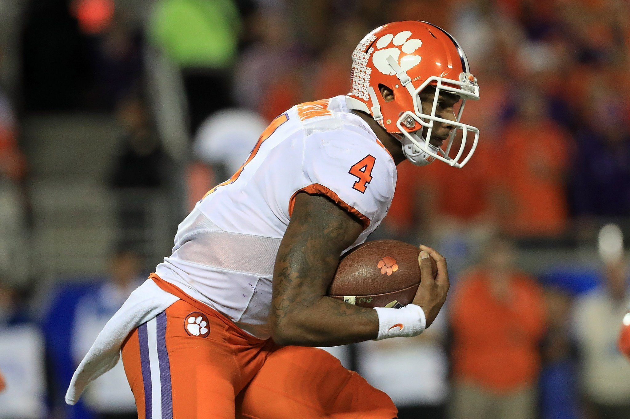 Clemson QB Deshaun Watson vs. Ohio State's defense should be a great matchup. (Getty)