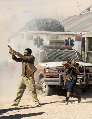 Mike Epps and Ashanti in Screen Gems' Resident Evil: Extinction