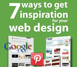 7 Ways to Get Inspired and Organised for Your Small Business Website image 7 ways to get inspiration web design 575