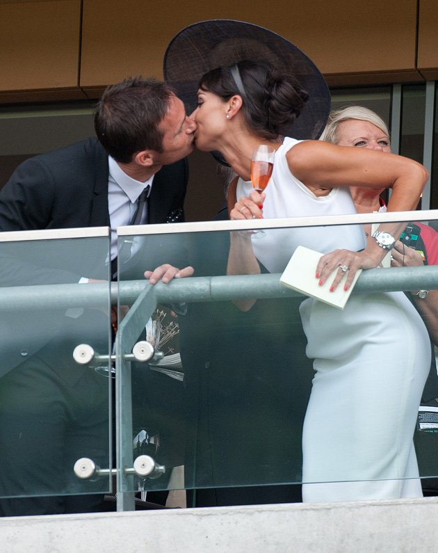 Christine Bleakley, Frank Lampard, PDA