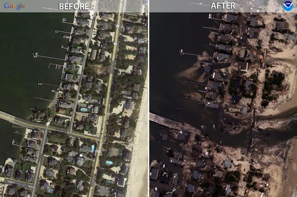 New Storm Brewing Could Threaten Sandy-Damaged Beaches