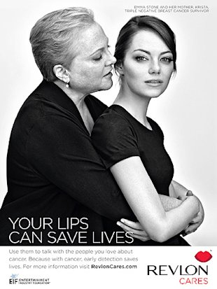 Emma Stone and Halle Berry team with Revlon for breast cancer campaign
