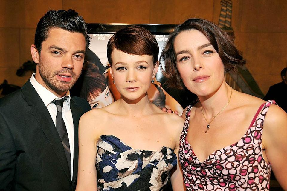 An Education LA Premiere 2009 Dominic Cooper Carey Mulligan Olivia Williams