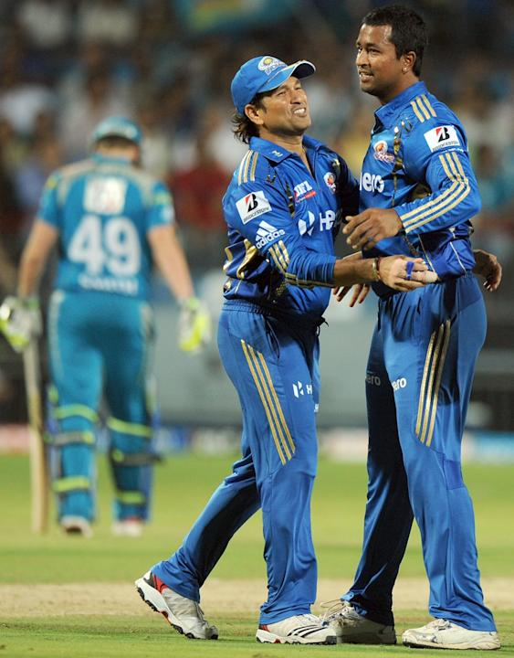 Mumbai Indians' cricketer Sachin Tendulk
