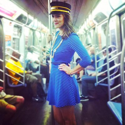 "The ""Love Conductor"" approaches people on the NYC subway to try and make potential love matches. (Facebook)"
