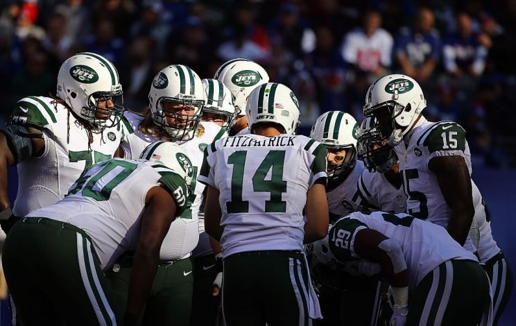 FitzMagic is back, so we can again feel good about various Jets as fantasy weapons. (Photo by Al Bello/Getty Images)