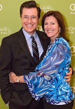 Stephen Colbert and wife Evelyn | Photo Credits: Neil Grabowski for the Montclair Film Festival