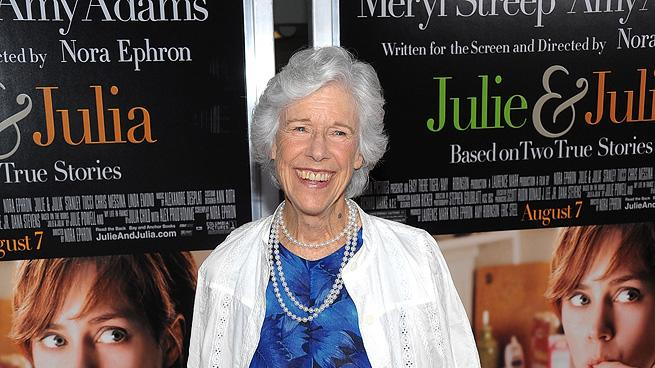 Julie and Julia NY Premiere 2009 Frances Sternhagen