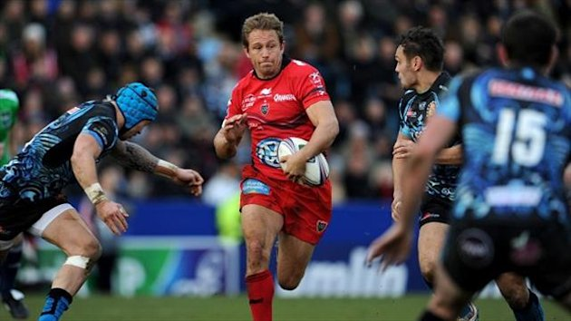 Jonny Wilkinson was among the Toulon scorers in the Heineken Cup defeat of Exeter.