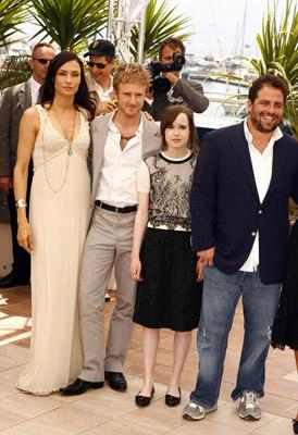 "Famke Janssen, Ben Foster, Ellen Page and Brett Ratner ""X-Men: The Last Stand"" Photocall - 5/22/2006 2006 Cannes Film Festival"