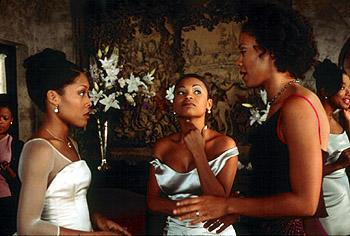 Monica Calhoun , Nia Long and Sanaa Lathan in Universal's The Best Man