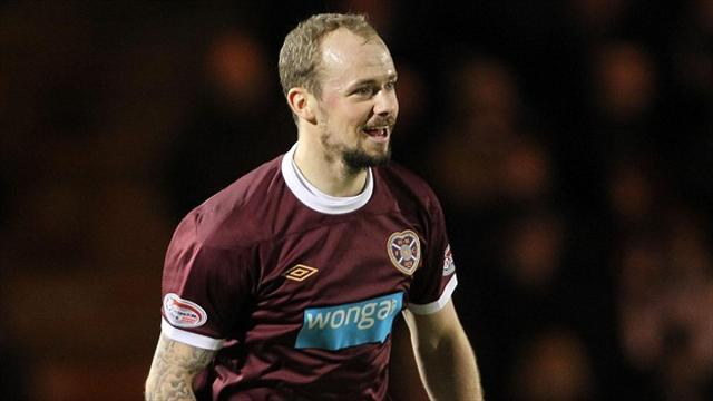 Scottish Football - Hearts sink Crusaders