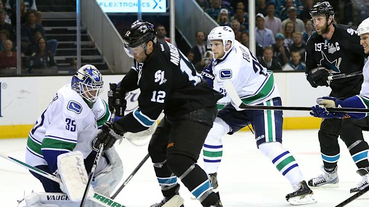 Vancouver Canucks v San Jose Sharks - Game Four