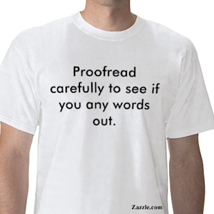 To Err is Human; To Proofread, Divine image proofread