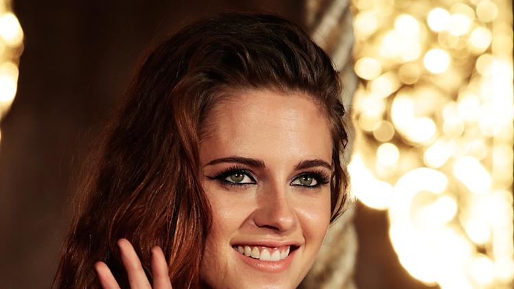 Kristen Stewart Promotes 'The Twilight Saga: Breaking Dawn Part 2'