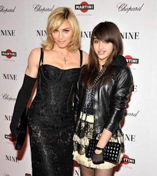 Madonna and daughter Lourdes / Wire Image