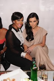 Kim Kardashian And La La Anthony