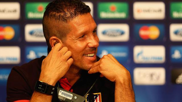 Liga - Simeone wishes Falcao the best