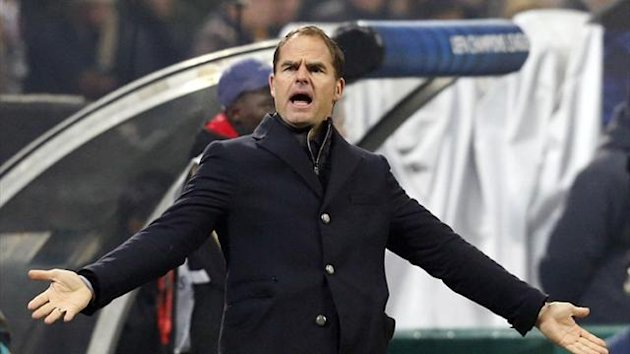 Ajax manager Frank de Boer (Reuters)