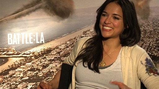 Battle: Los Angeles: Michelle Rodriguez