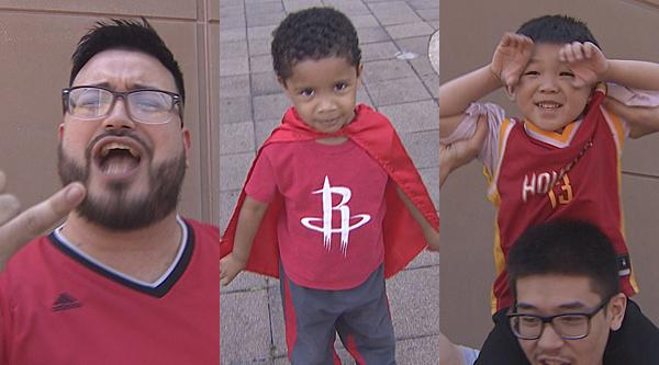 'Playoffs baby!' Rockets fans dare to dream again