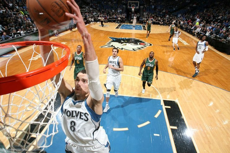 Zach LaVine highlights this week's look at recent risers and fallers in fantasy hoops (Getty Images)
