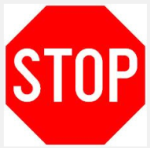 "What ""It Can Wait"" Can Teach Data Driven Marketers image stop sign"