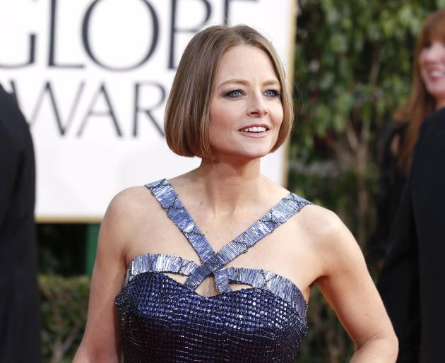 File photo of actress Jodie Foster arriving at the 70th annual Golden Globe Awards in Beverly Hills
