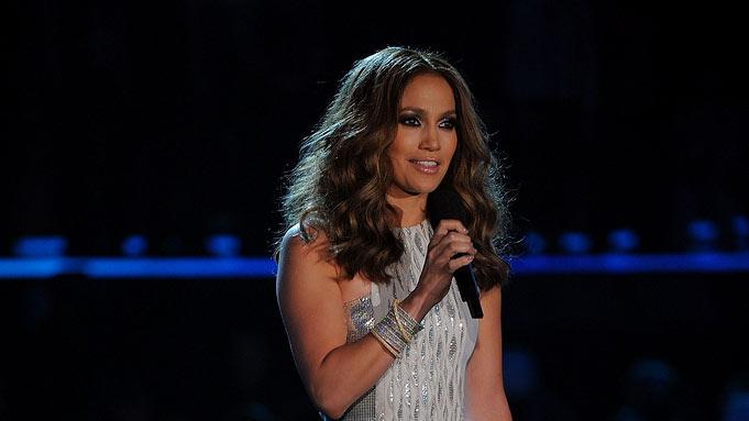 Jennifer Lopez at The 52nd Annual Grammy Awards held at Staples Center on January 31, 2010 in Los Angeles, California.