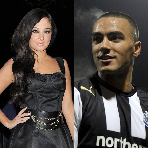 Tulisa and Danny Simpson