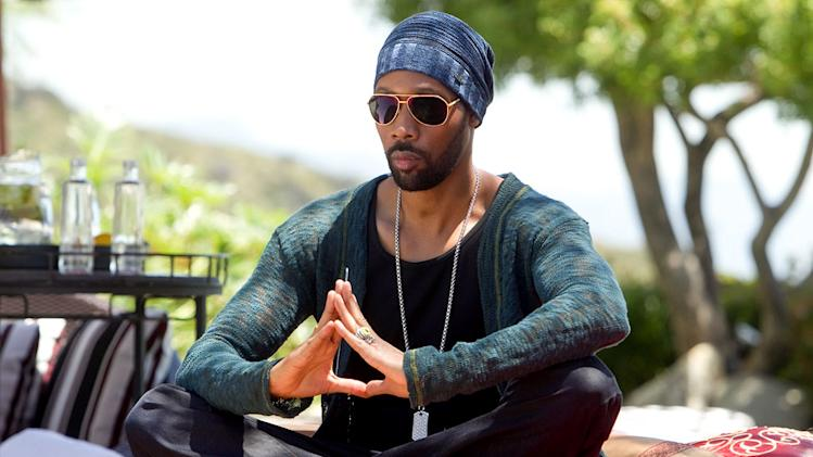 "RZA as Samurai Apocalypse in ""Californication."""