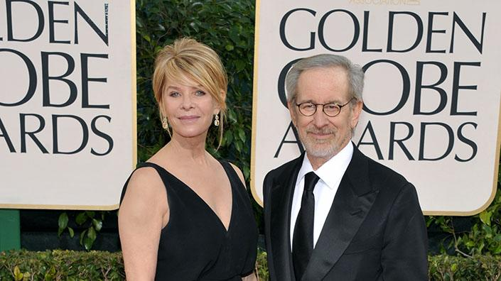 70th Annual Golden Globe Awards: Steven Spielberg, Kate Capshaw