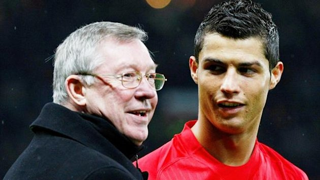Sir Alex Ferguson and Cristiano Ronaldo (Reuters)