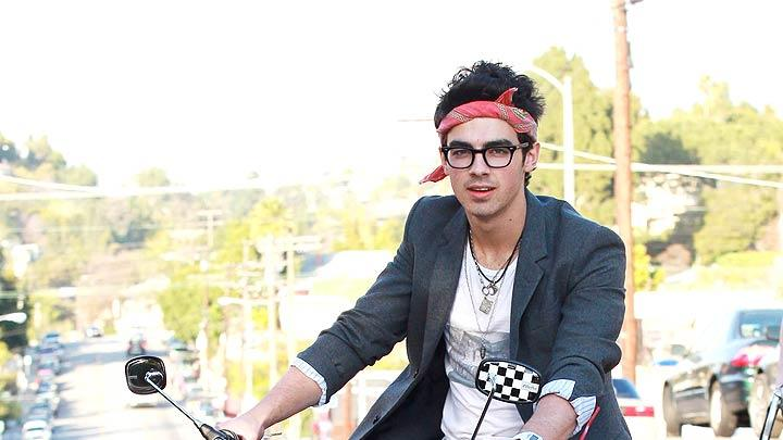 Jonas Joe Bike Riding
